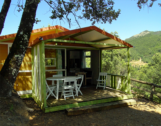 Cottage camping ardeche
